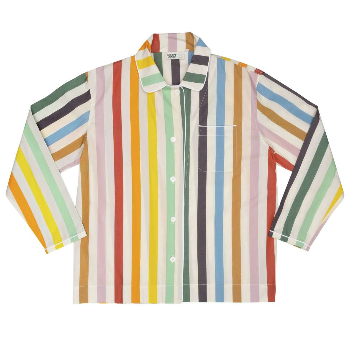 Sleepy Jones X Color Factory pajamas; $178 at Color Factory