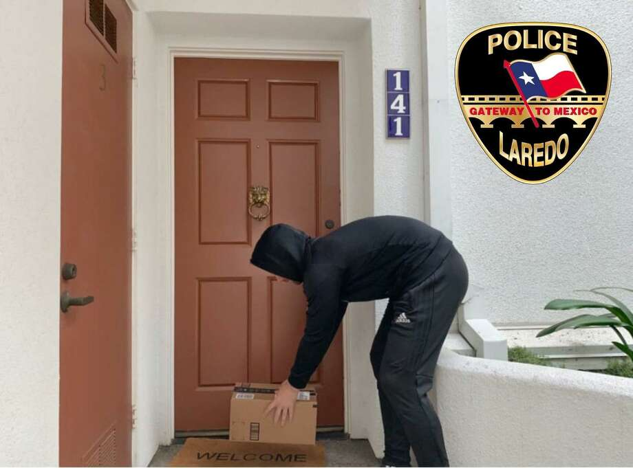 Laredo police has released a few pointers on what to do to avoid being a victim of porch pirates. Photo: Courtesy Photo /Laredo Police Department