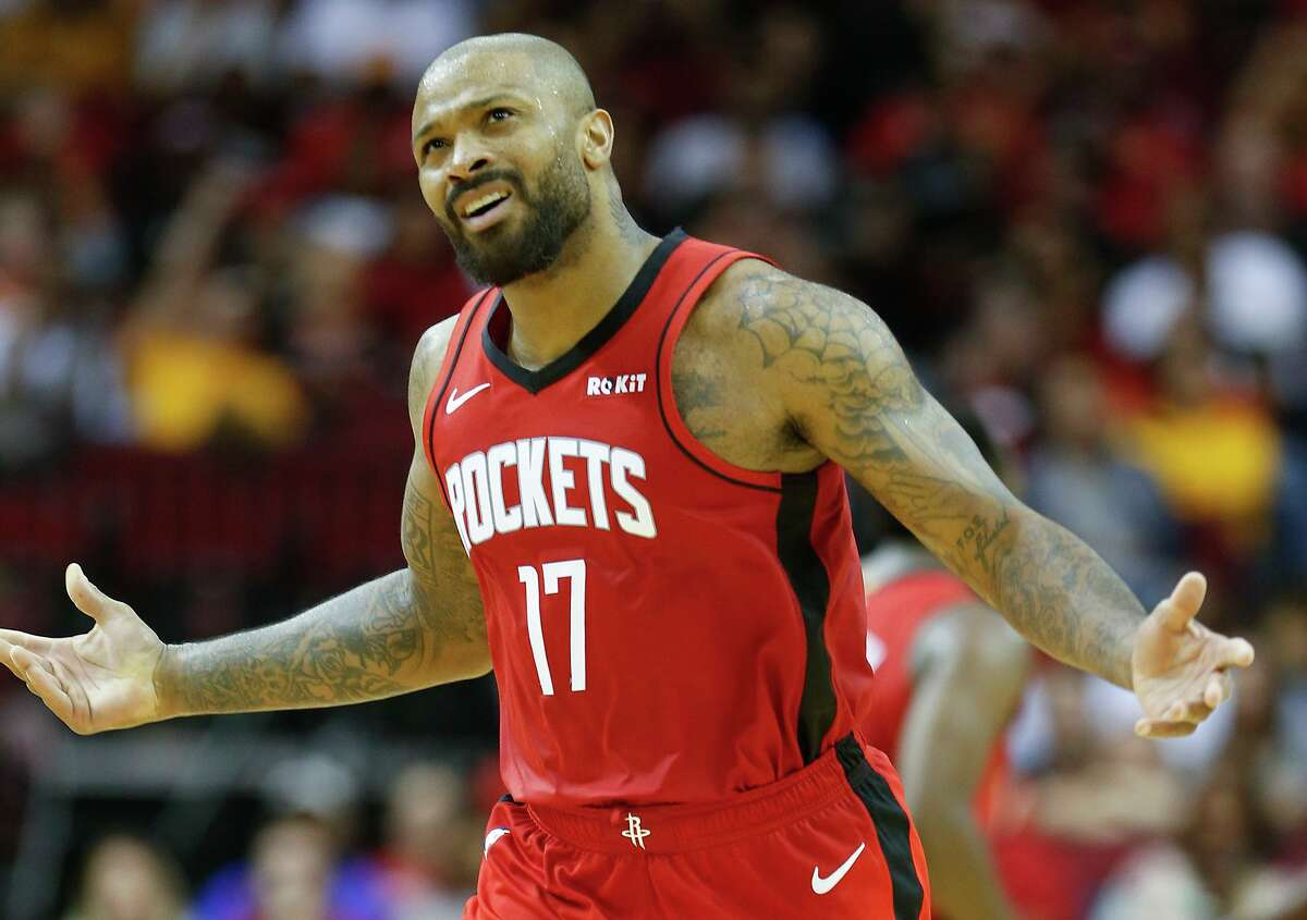 A week that began with Rockets forward P.J. Tucker showing frustration over stalled talks on a contract extension is ending with increased conversations about a deal for the Rockets' veteran power forward.