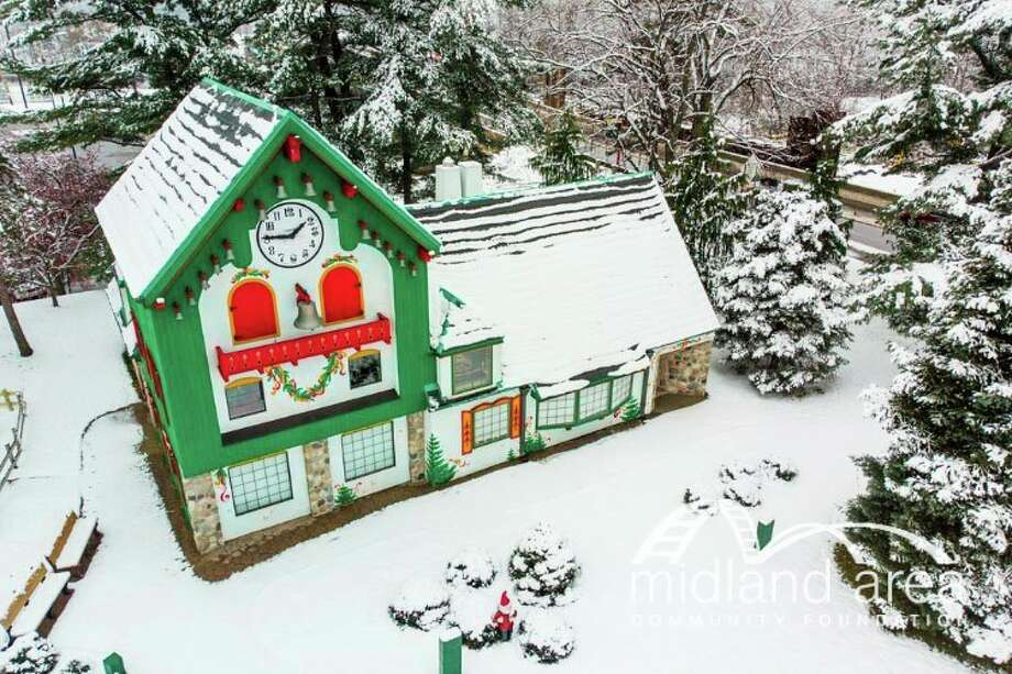 The Santa House in Downtown Midland will open this year, but with some changes. (Photo provided/Midland Area Community Foundation)