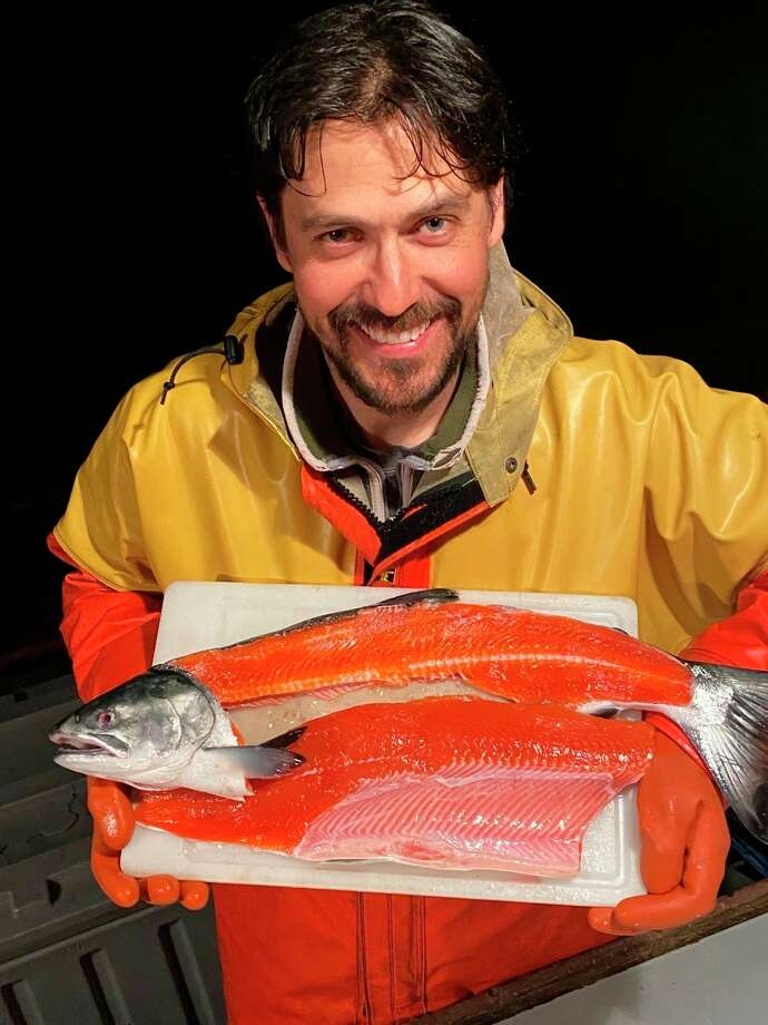 Caven Pfeiffer, a former Midland, is a commercial fisherman in Alaska. (Photo provided/Lolita Pfeiffer)