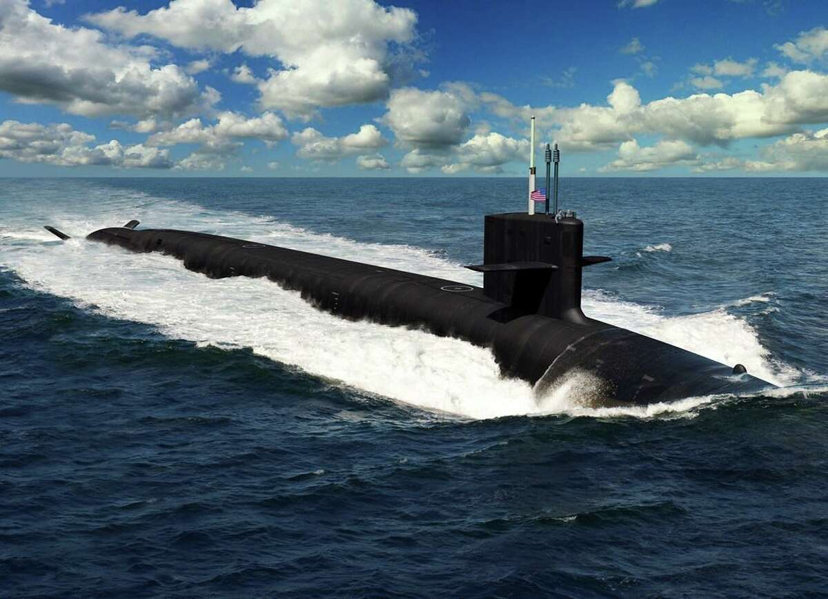 An artist depiction of the Columbia-class submarine for the U.S. Navy. (General Dynamics press image via PRNewswire)