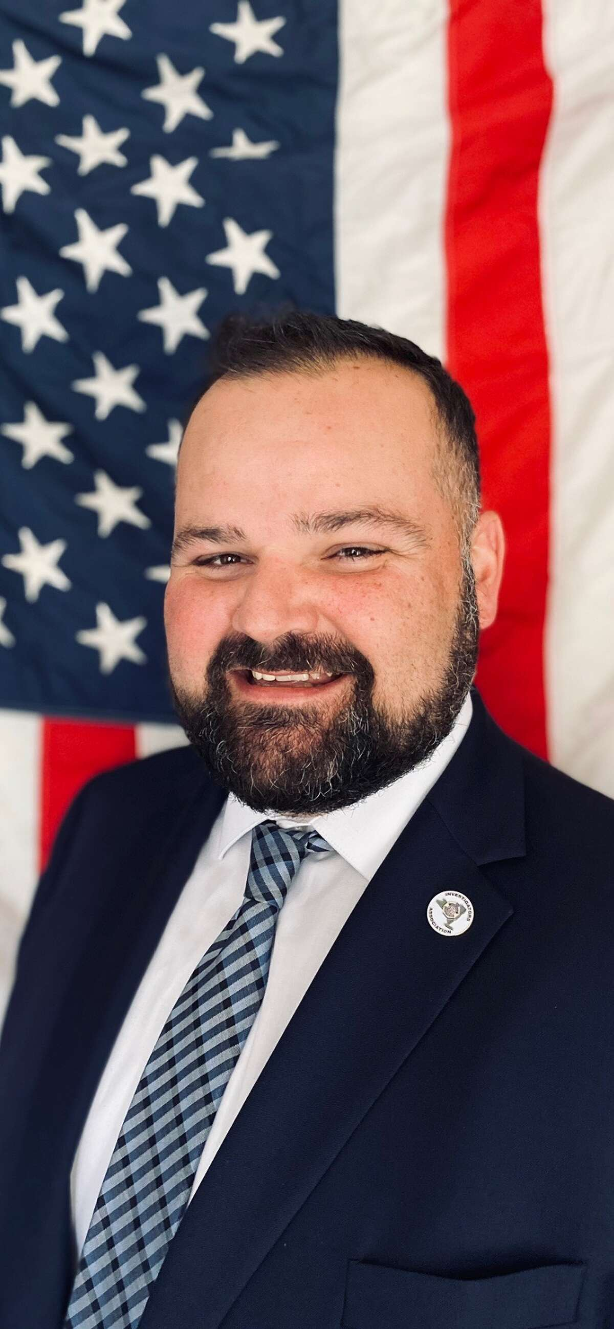 Senior Investigator Timothy Dymond, president of the New York State Police Investigators Association.