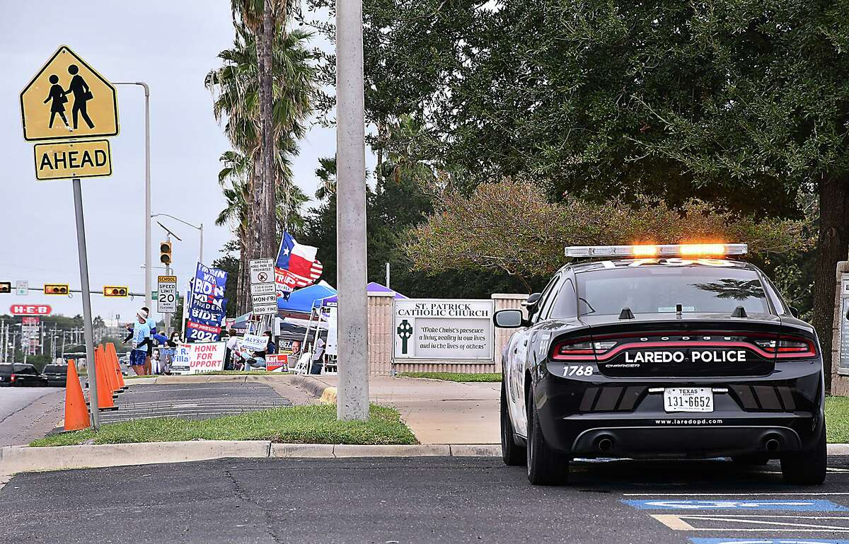 Following confrontations between the different political factions for the presidential race outside the Central Fire Station where early voting was taking place, the Laredo Police Department assigned police units to keep order. LPD does not expect any protests or violence locally due to election results.
