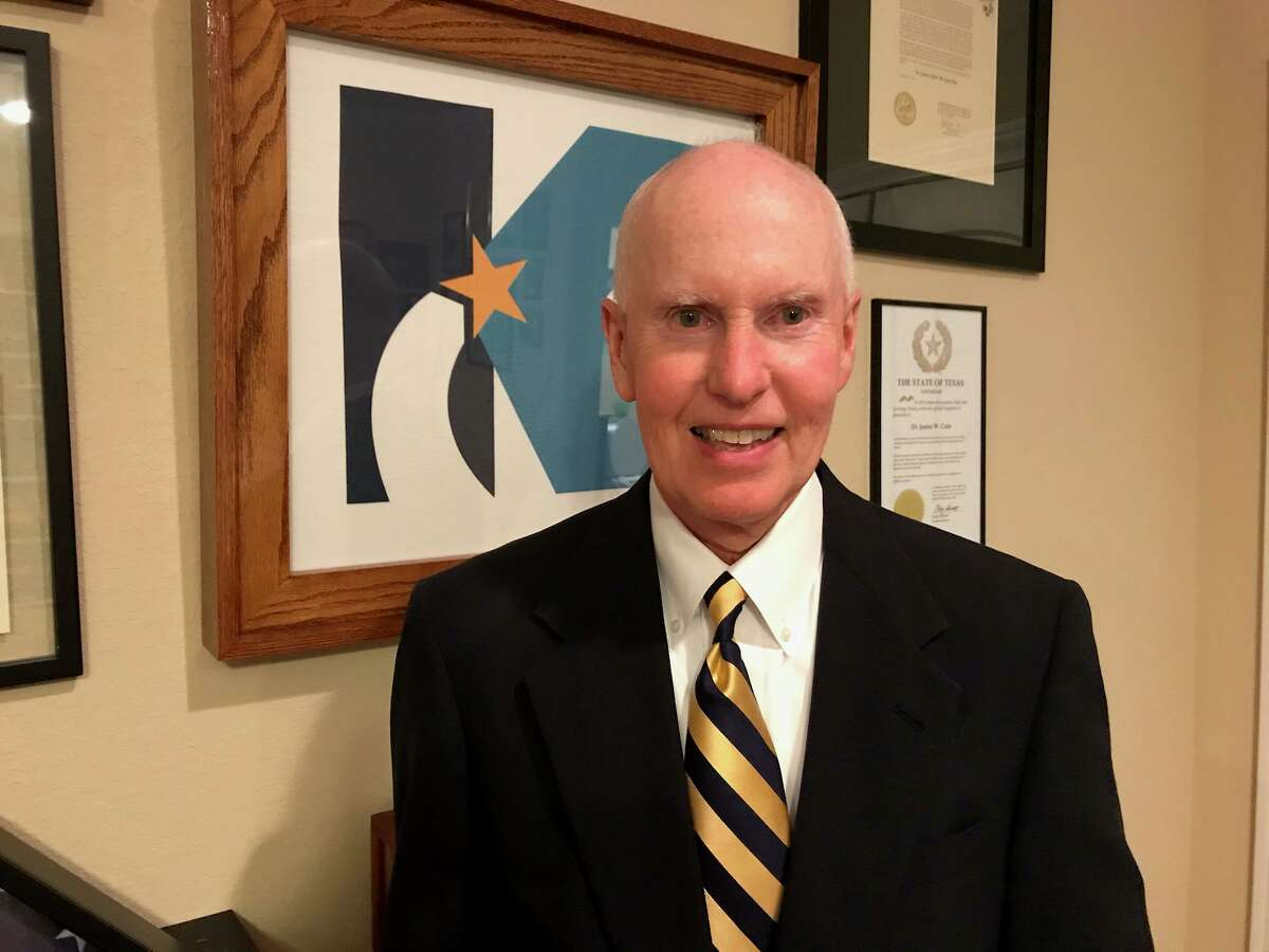 Lone Star College System District 9 Trustee-Elect Jim Cain, who previously served as Klein ISD superintendent.