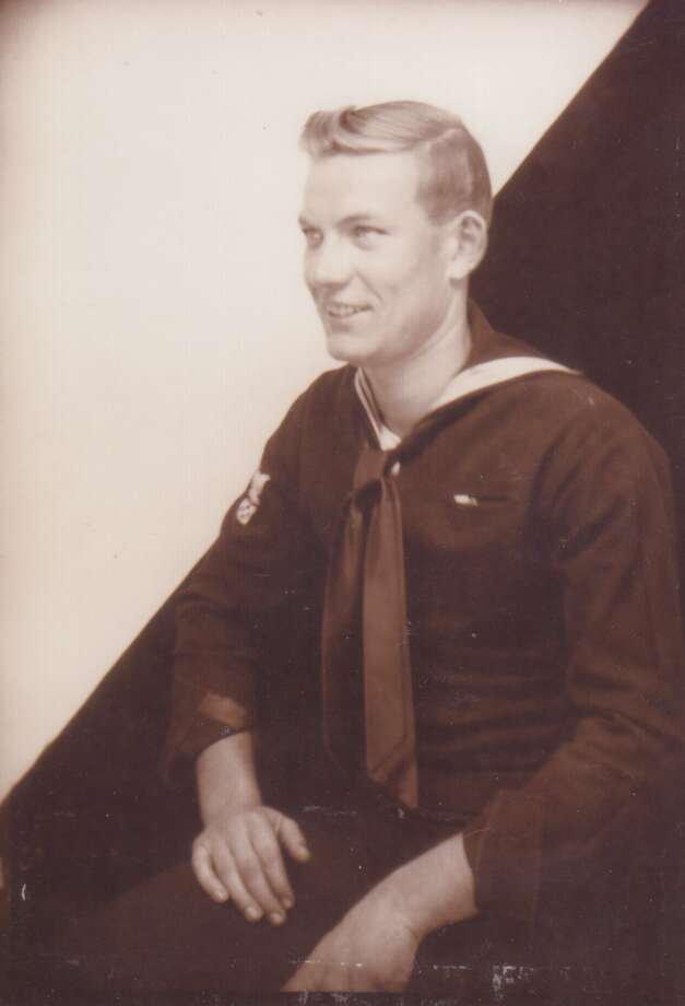 Darwin E. Anderson, Coxwain, US Navy, Amphibious Forces, WWII 1944-1946 Photo: Courtesy Photo