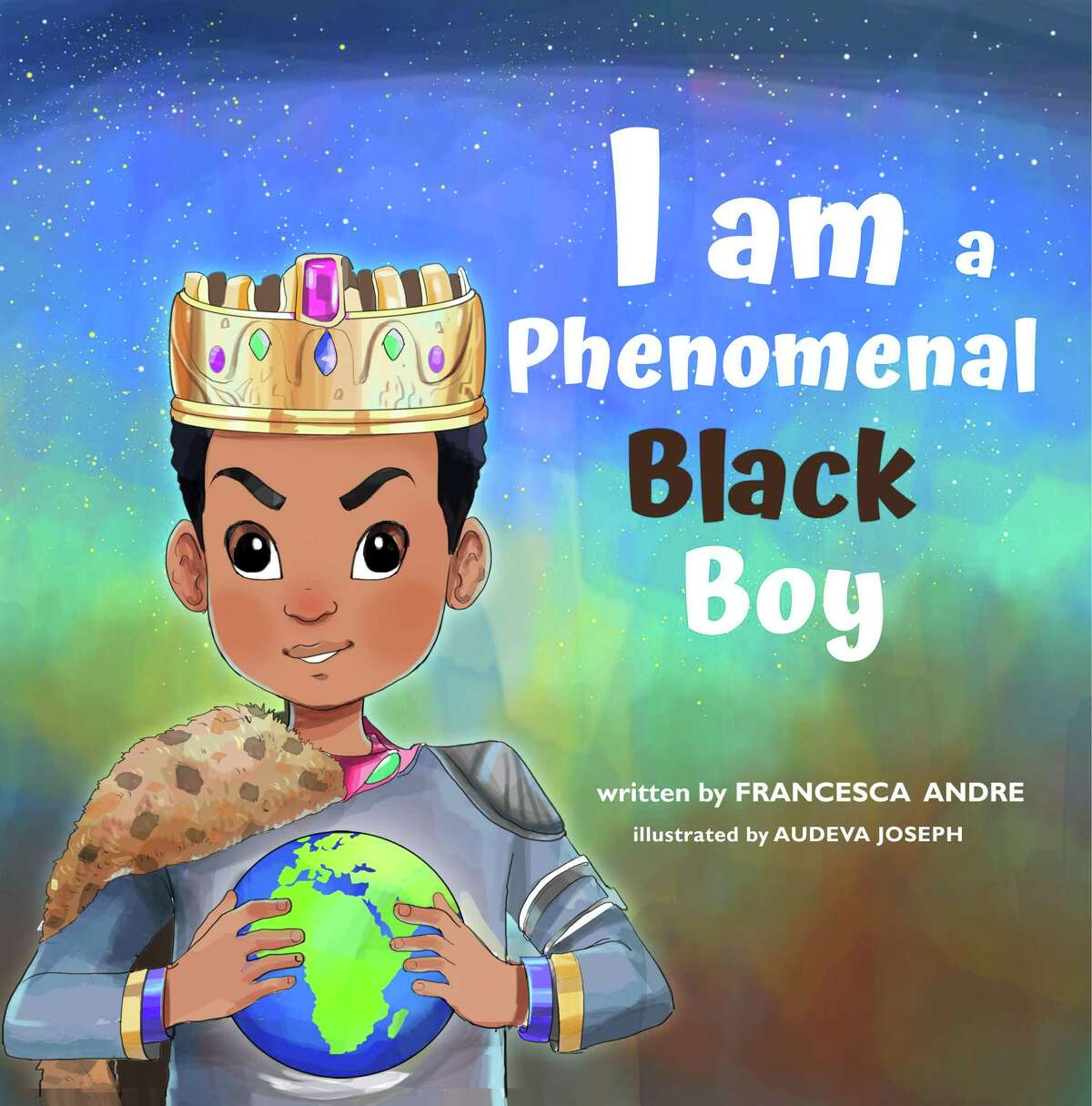 """Former Connecticut resident Francesca Andre has written the book """"I am a Phenomenal Black Boy."""""""