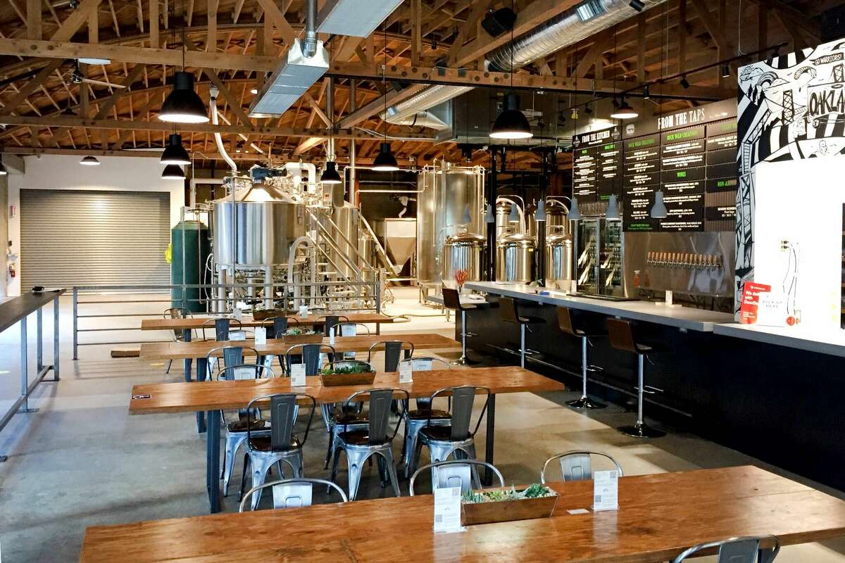 Buck Wild Brewing is Oakland's newest brewery to open at Jack London Square. Everything from the drinks to food are gluten-free.