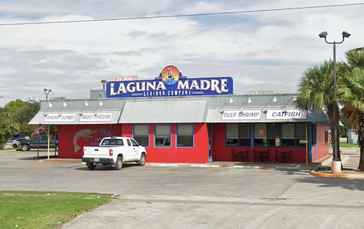 Bill Miller's Laguna Madre Seafood: 5123 Rigsby Ave. Date: 11/02/2020 Score: 83 Highlights: There were gnats throughout the establishment. Dishes on the clean rack had food debris. Macaroni and raw shrimp were in the same compartment. The ice machine had brown residue inside.