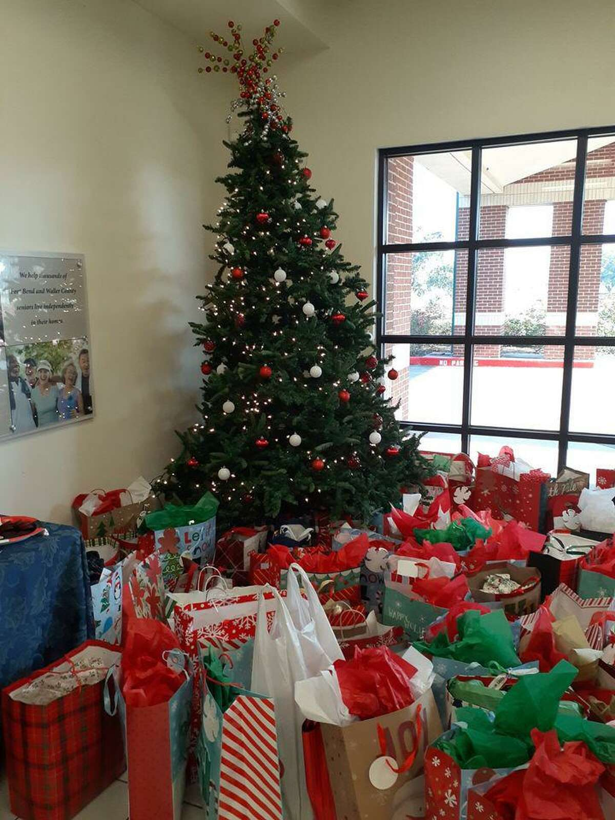 FBS Meals on Wheels brings holiday cheer to homebound seniors. Volunteers usually drop off Secret Santa gifts at the FBS administrative office.