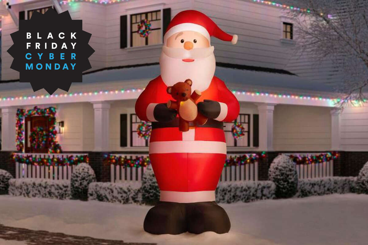 12-Foot Giant Inflatable Santa, $69 at The Home Depot