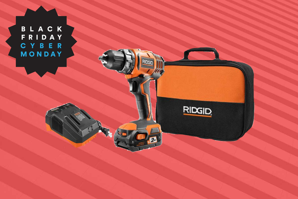 RIDGID 18-Volt Lithium-Ion Cordless 2-Speed 1/2 in. Compact Drill/Driver Kit, $20 off at Home Depot