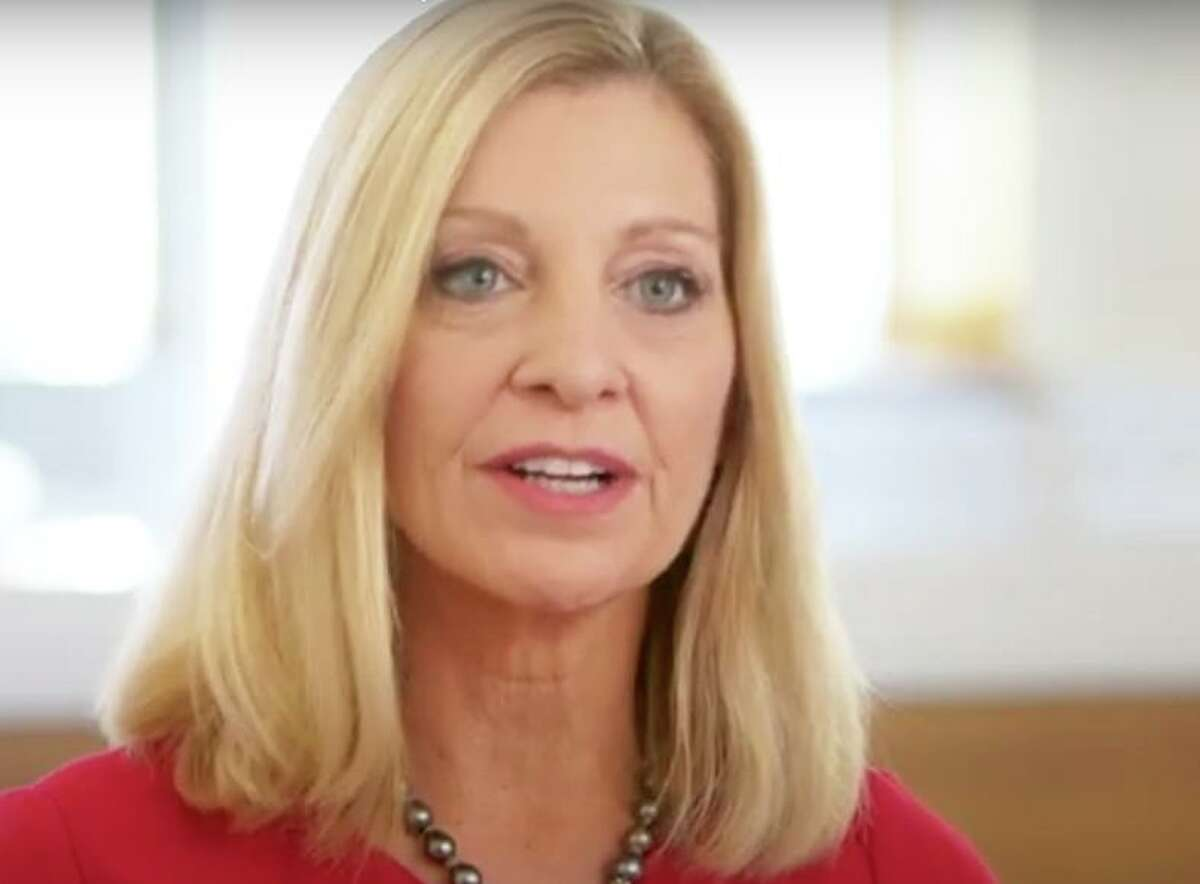 Karen Lynch in a 2018 corporate video posted by CVS Health. On Nov. 6, 2020, CVS named Lynch CEO effective February 2021. (Screenshot via YouTube)