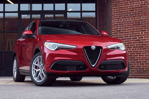 Some say it's practically a crime to hang a front license plate on Alfa Romeo's Stelvio crossover.