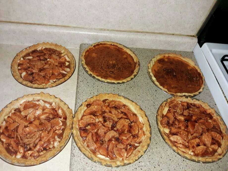 Apple and pumpkin pies await Friday supper guests. (Courtesy photo)