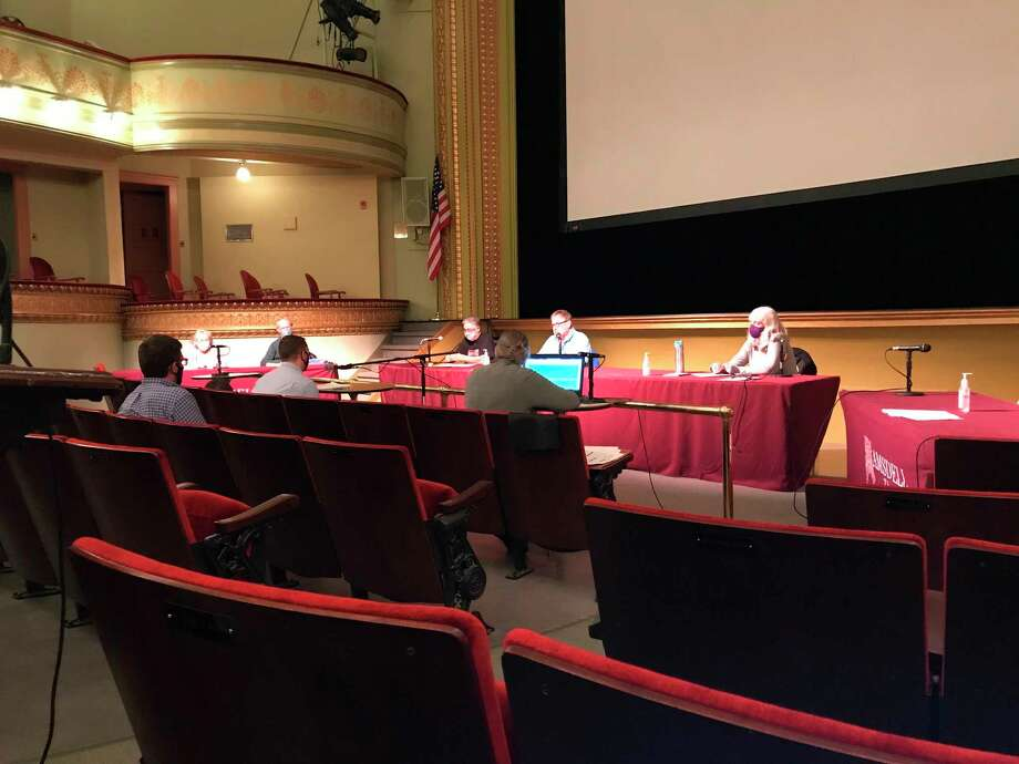 The planning commission discussed a bed and breakfast project and the sign ordinance and thanked planning director Rob Carson at Thursday's meeting. (Erin Glynn/News Advocate)