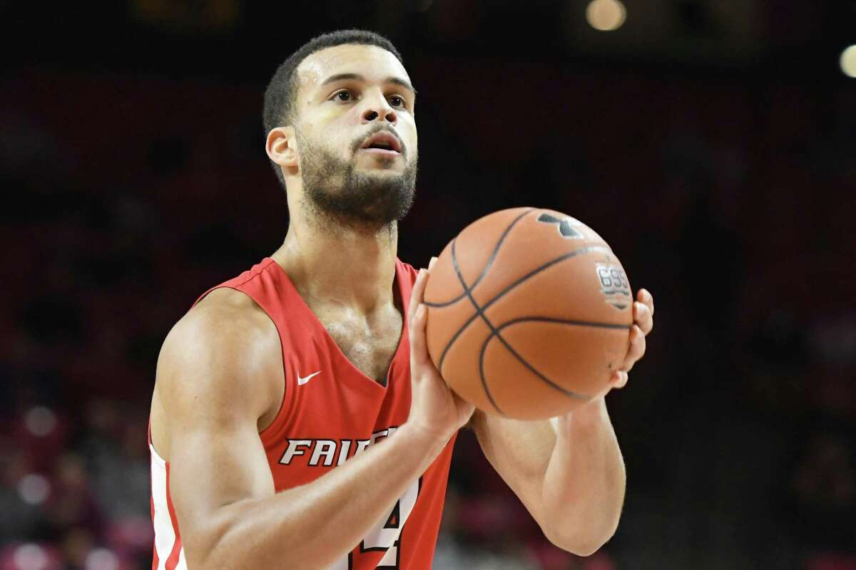 Jesus Cruz and the Fairfield University men's basketball team will open their season on Nov. 25 at Providence College.