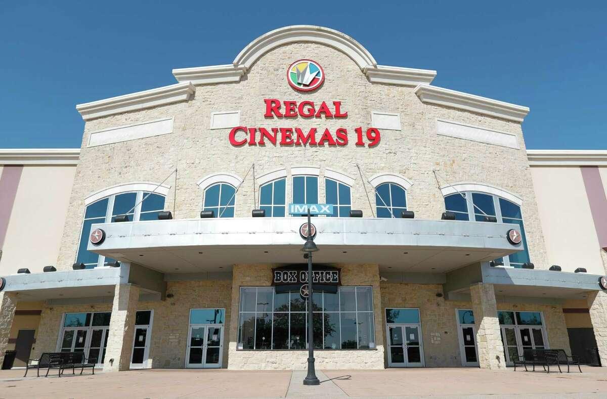 Regal Cinemas 19 is seen Friday, Nov. 6, 2020, in Tomball.