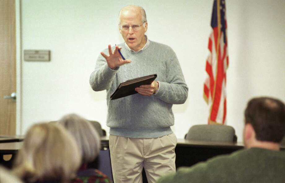Former U.S. Rep. Christopher Shays in 2004. Photo: File Photo /Tracy Deer / File Photo / Connecticut Post file photo