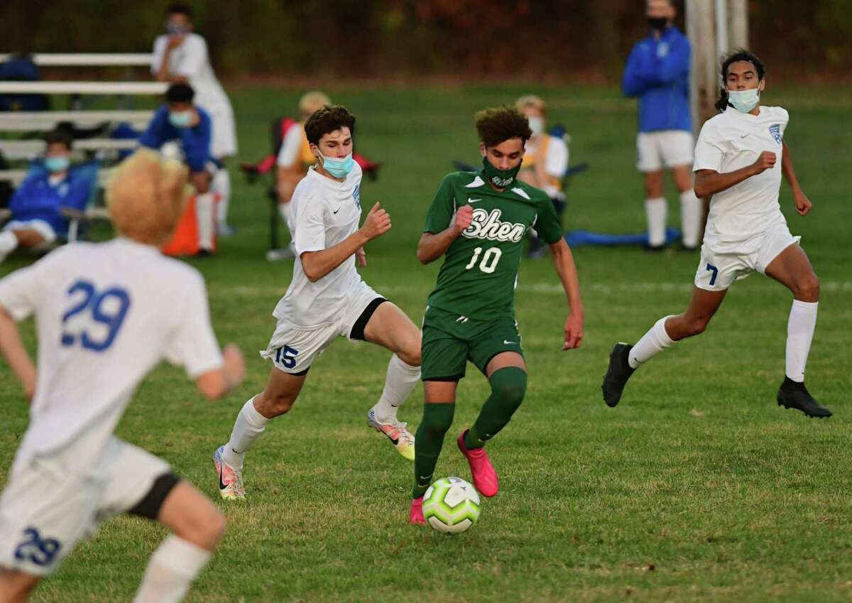 Shenendehowa's Darien Espinal scored some big goals this season when he was moved to striker.
