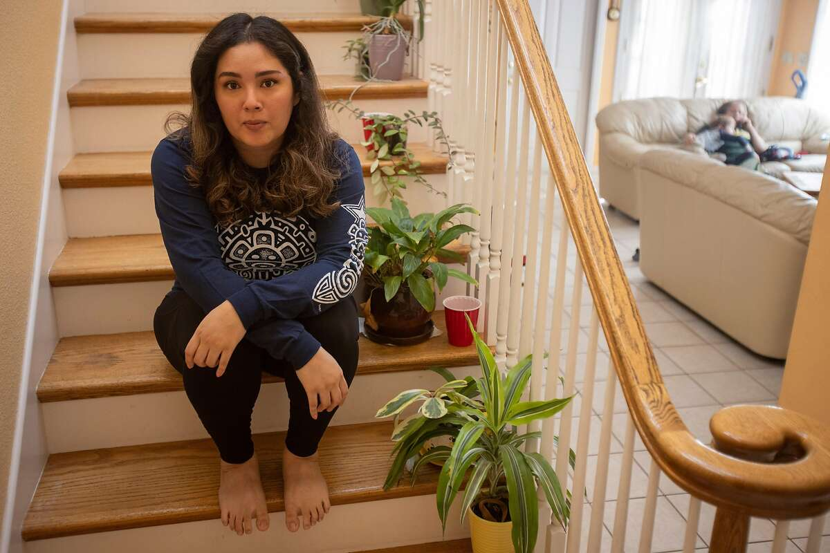 Zairha Rivera, who was planning to travel to her extended family in Puerto Rico during the holidays, decided to stay in the Bay Area.
