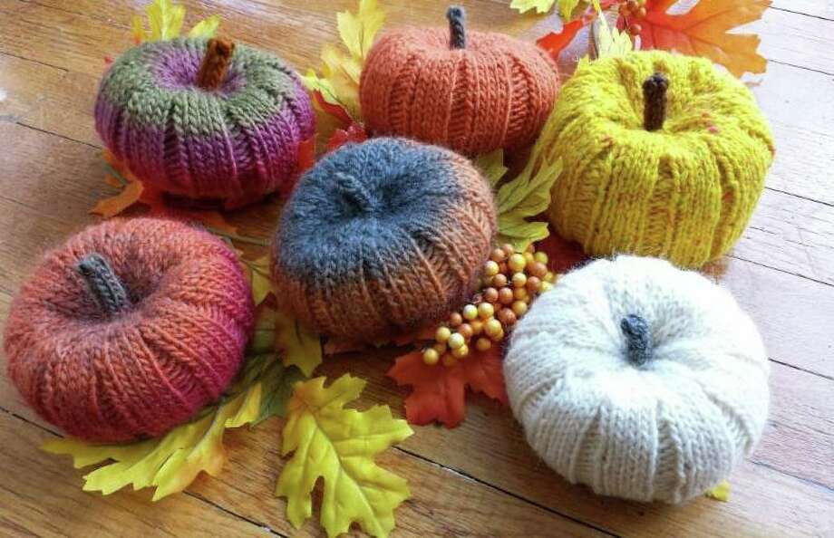 Make some knotted pumpkins for the holiday season. Photo: Contributed Photo