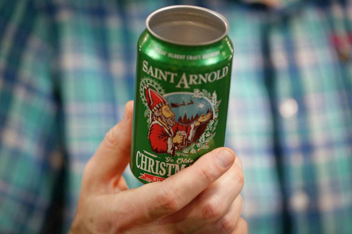 Brock Wagner, the founder/brewer of St. Arnold Brewery, has a large warehouse where he stores empty beer cans Thursday, Nov. 5, 2020, in Houston.