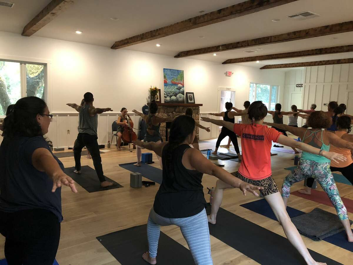When it becomes safe again, Balanced Rock will hold in-person yoga classes and trainings.