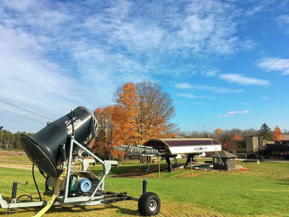 Crystal Mountain Resort and Spa continues to invest in snowmaking technology in order to get the slopes open to skiers and snowboarders as soon as conditions allow. (Courtesy Photo)