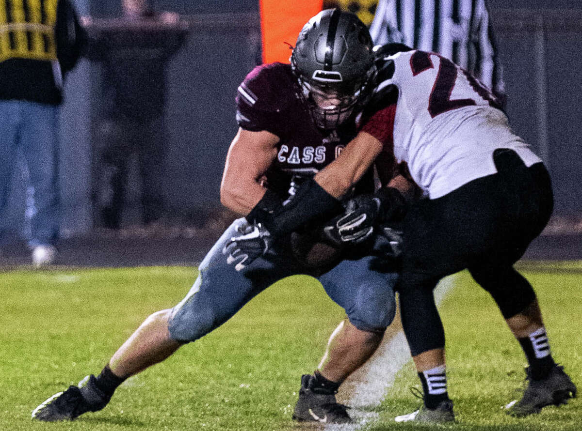 The Cass CIty Red Hawks punched their ticket to the district finals on Friday night with a thrilling, 14-12 overtime victory over the visiting Sandusky Redskins on Friday night.