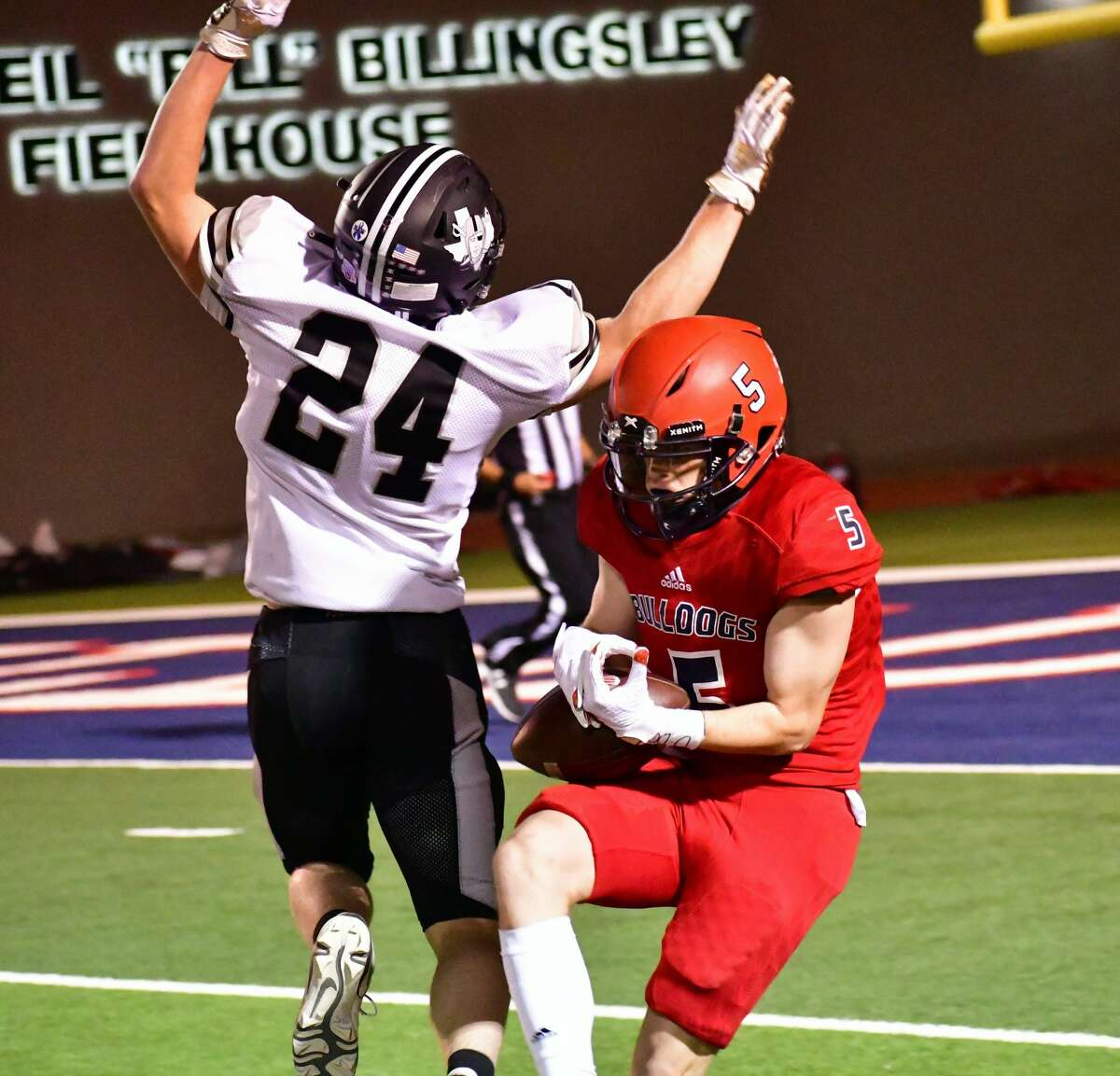 Plainview suffered a 48-6 loss to Canyon Randall in a District 3-5A Division II football game on Friday, Nov. 6, 2020 in Greg Sherwood Memorial Bulldog Stadium.