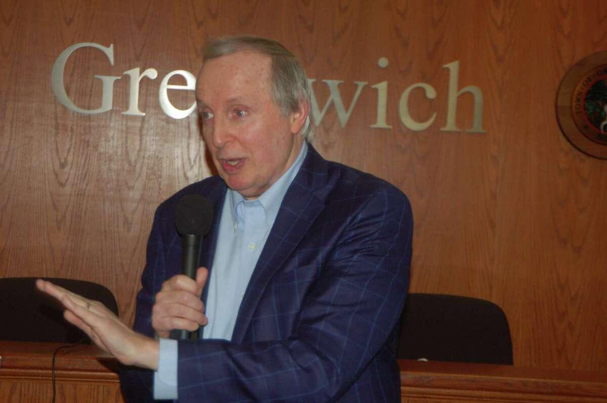 Greenwich Democratic Town Committee Chair Joe Angland