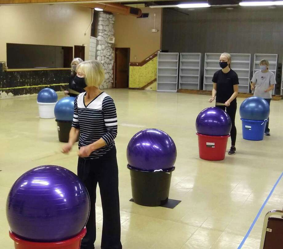 Cardio drumming classes have returned to the Wagoner Center. There is ample room for more participants at the next class which starts at 6 p.m. on Nov. 11. (Courtesy Photo)
