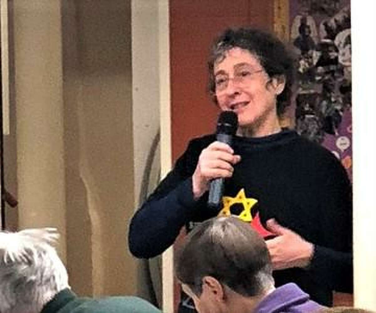 Carol Rizzolo, of Guilford, founder of Connecticut Shoreline Indivisible