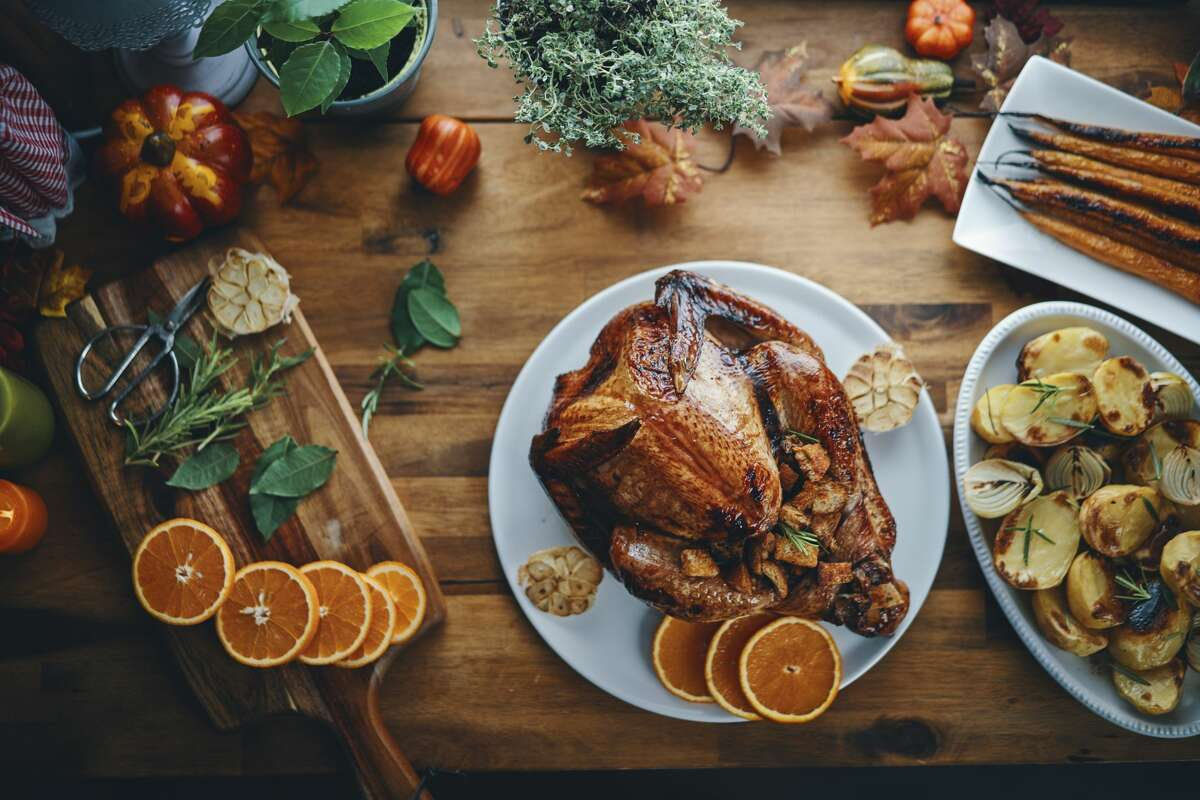 Chef Eric Rivera's restaurant and pop-up will feature five different take-home options for Thanksgiving. Dine over the