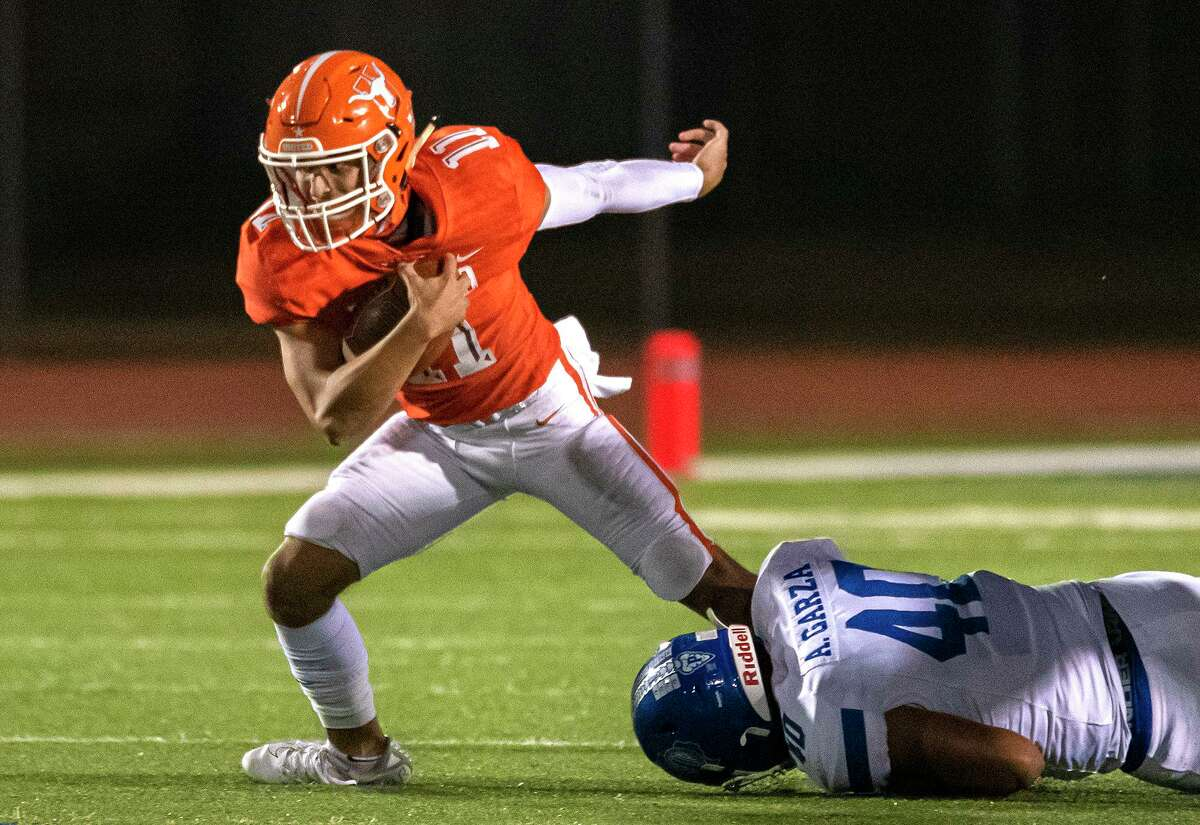 Sammy Casso and the Longhorns defeated Del Rio Friday.