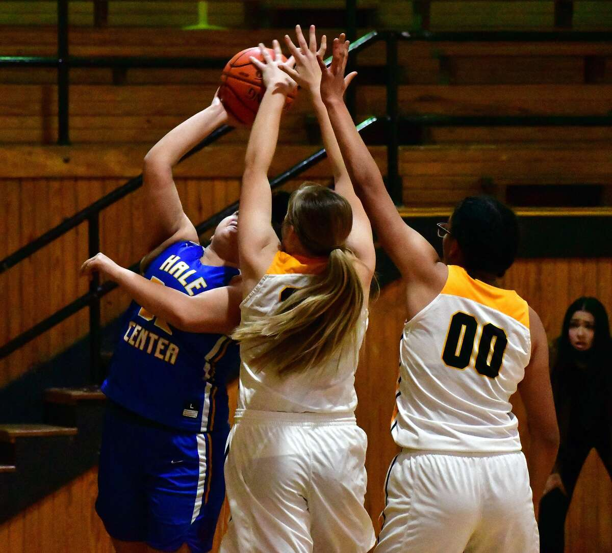 Hale Center pulled away for a 49-34 victory over Kress in a non-district girls basketball game on Saturday, Nov. 7, 2020 in Kress in the season opener for both teams.