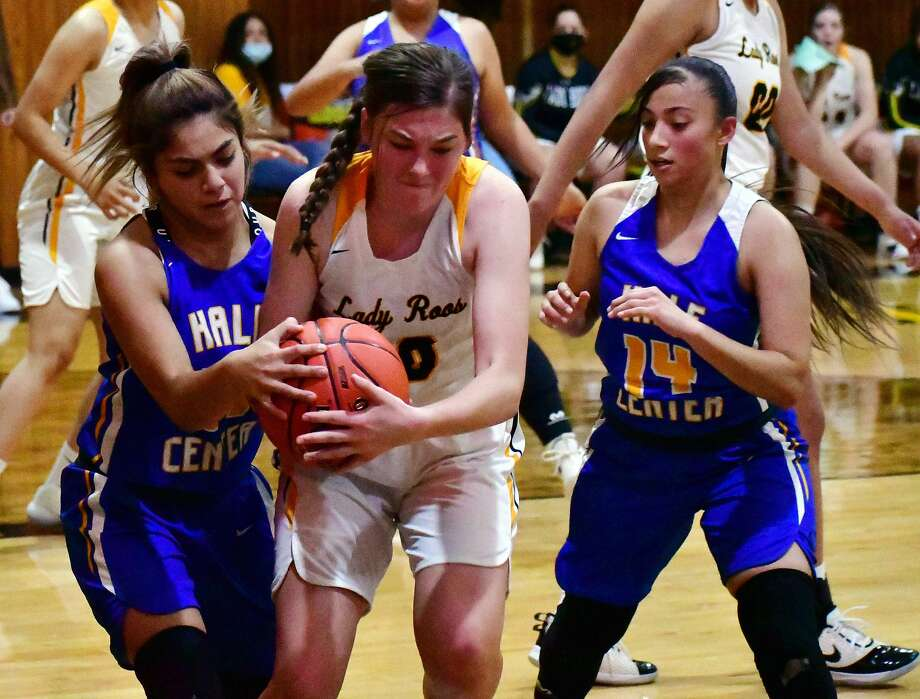 Hale Center pulled away for a 49-34 victory over Kress in a non-district girls basketball game on Saturday, Nov. 7, 2020 in Kress in the season opener for both teams. Photo: Nathan Giese/Planview Herald