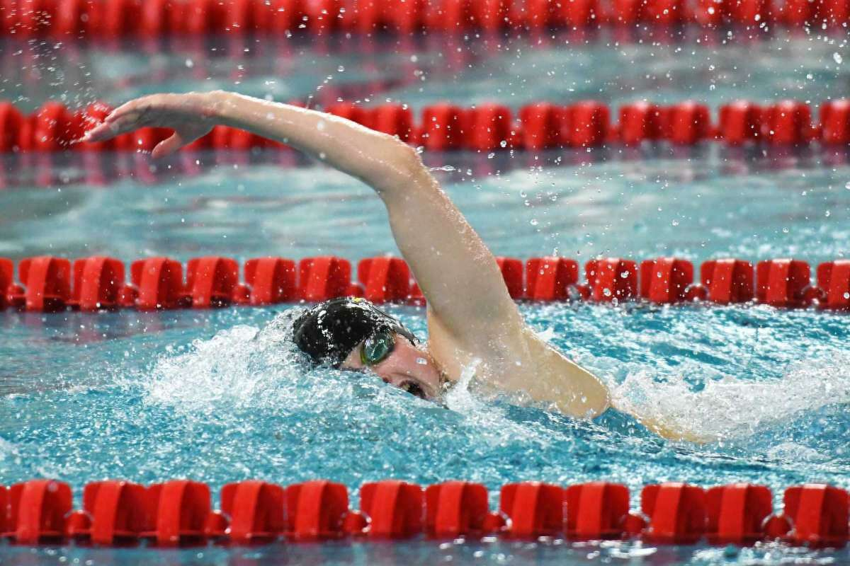 Greenwich High School senior swimmer Meghan Lynch holds multiple team and state records. A three-time All-America selection, she will conclude her Cardinals swimming career at Wednesdays' FCIAC West Region Championships.