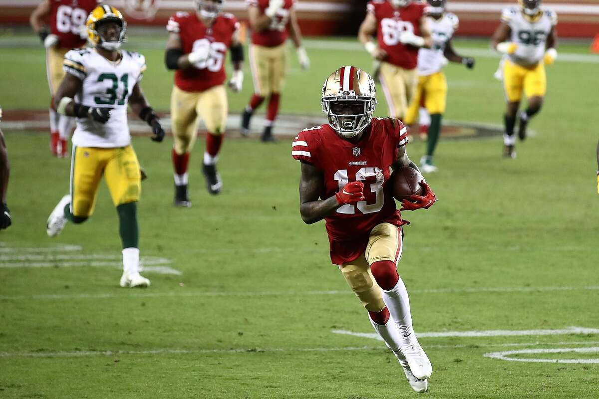 Richie James became the fifth 49er since 1967 with at least nine catches and 184 receiving yards in a game.