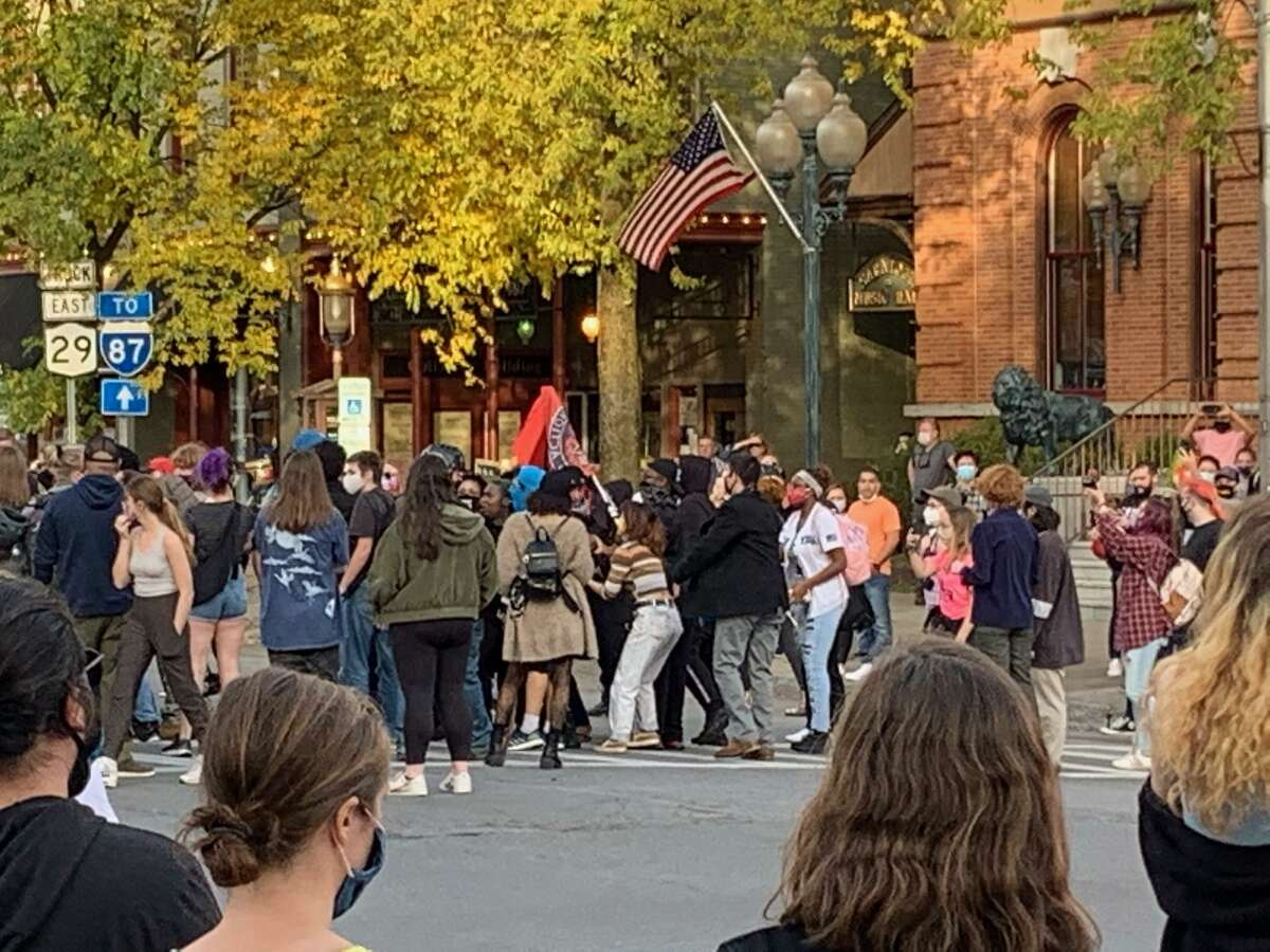 A Black Lives Matter protest in Saratoga Springs in November lasted more than 7 hours.