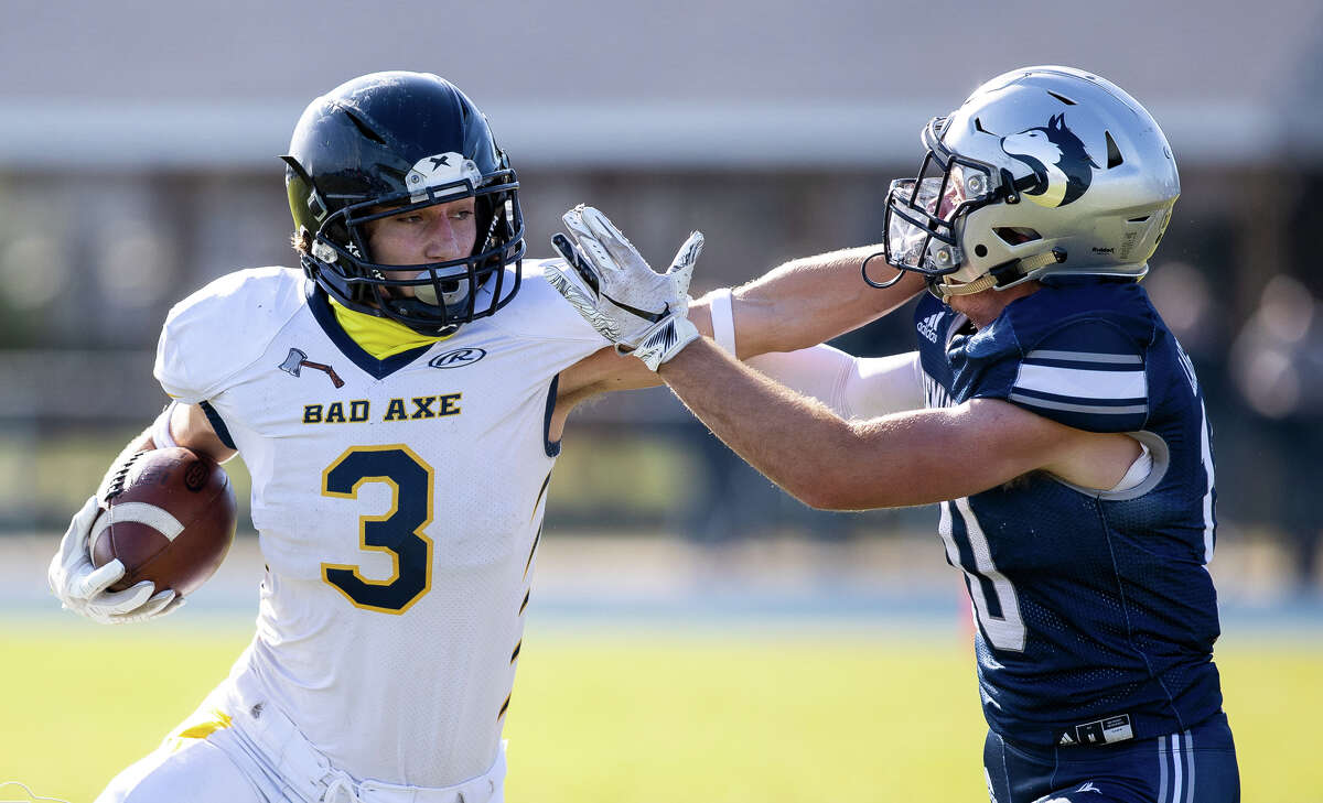 The Bad Axe varsity football team's playoff run came to an end on Saturday afternoon with a 2017 road loss to the Hemlock Huskies.