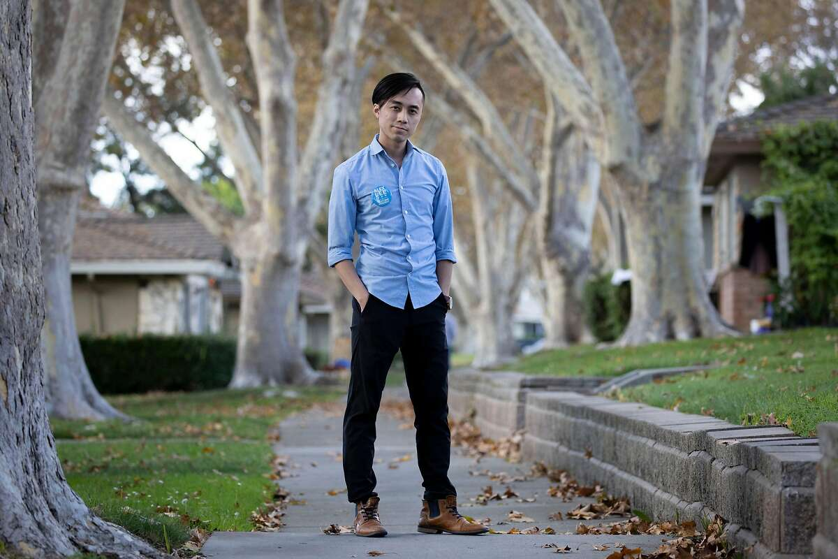 Alex Lee, 25, won a state assembly seat representing San Jose and is the youngest state assemblyman on record and also the first who is openly bisexual.