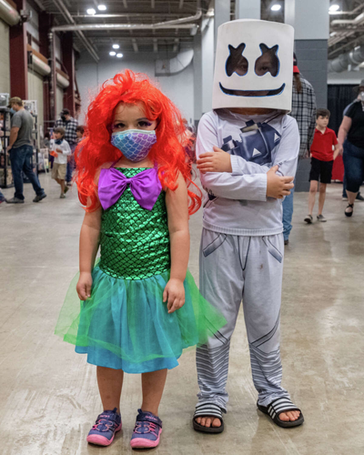 Comicon 2020 is happening at Ford Park Entertainment Complex this weekend with a variety of characters in attendance. Photo made on November 7, 2020. Fran Ruchalski/The Enterprise