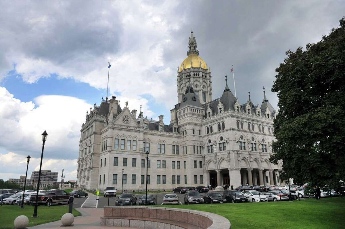 In this file photo, the Connecticut State Capitol building in Hartford.