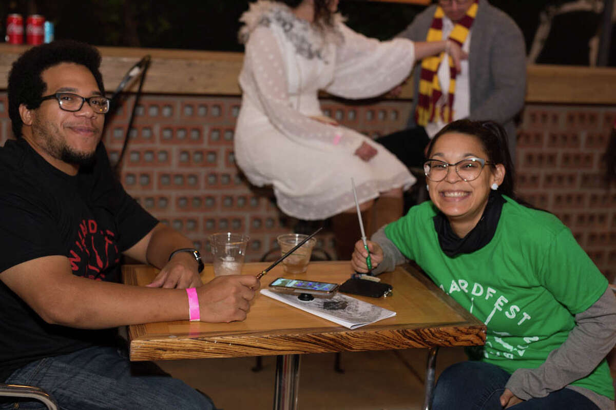Muggles, mudbloods, witches and wizards alike gathered at Paper Tiger Saturday for