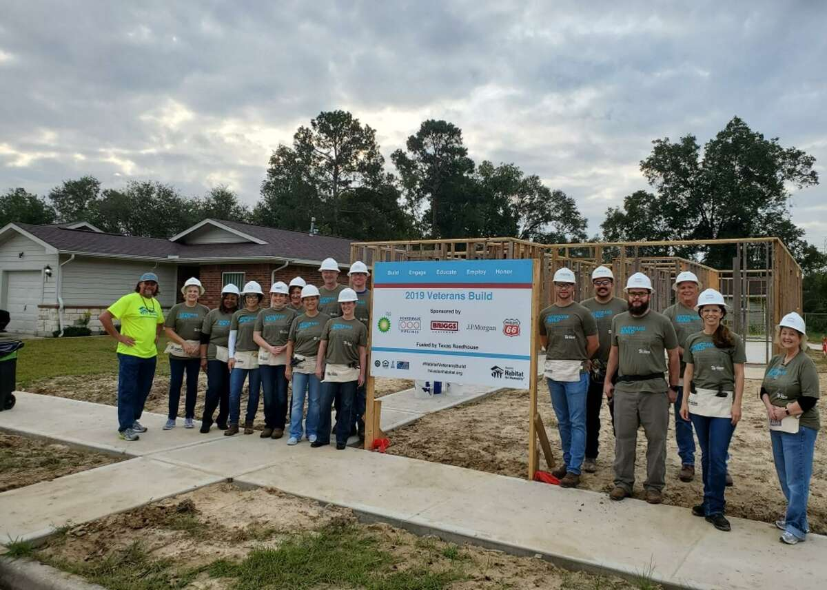 Boardwalk Pipelines employees helped build a home for Habitat for Humanity in 2019. The company emphasizes a culture in which every employee feels valued, respected, challenged, supported, and safe.