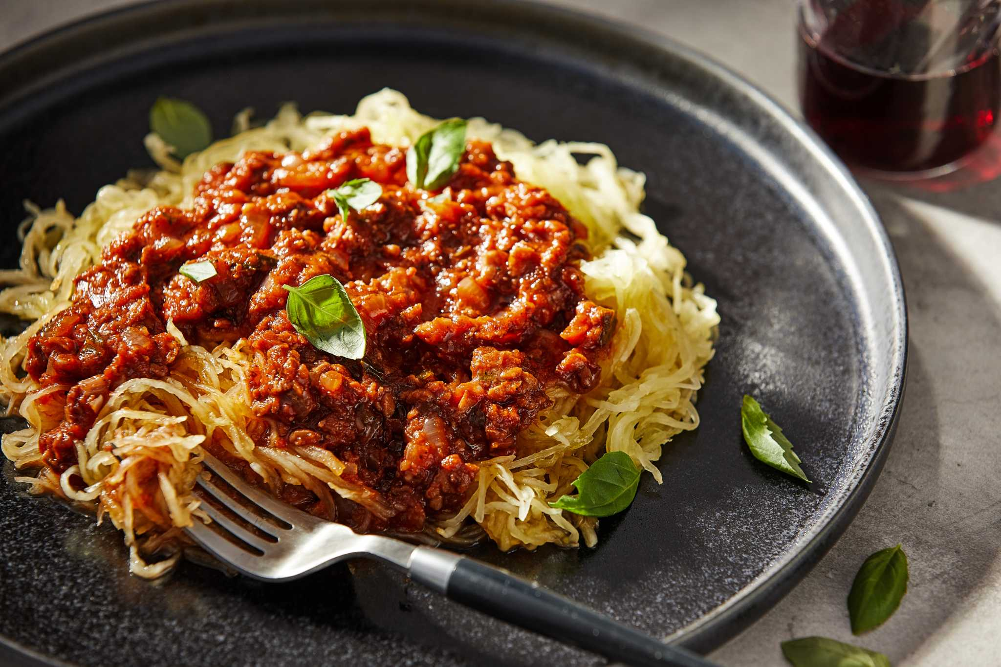 This vegan Bolognese is full of familiar, comforting flavors