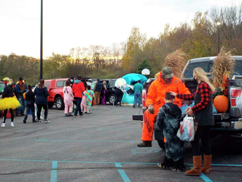 Between 400-500 pounds of candy was donated and distributed at Faith Covenant Church's fifth annual Trunk or Treat event on Oct. 31. (Courtesy photo)