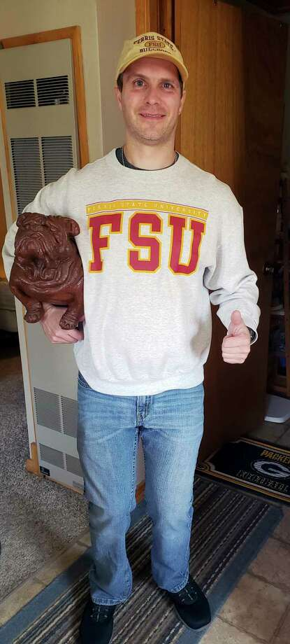 A current resident of Menominee in the Upper Peninsula, Carhoun is still an avid Bulldog fan, and keeps up-to-date with all things related to Ferris State and its athletic program. (Photos Courtesy/Mary Carhoun)
